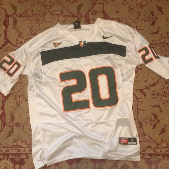 reputable site 982ac a0696 Ed Reed Miami Hurricanes Jersey